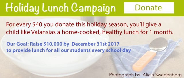 Holiday Lunch Campaign details